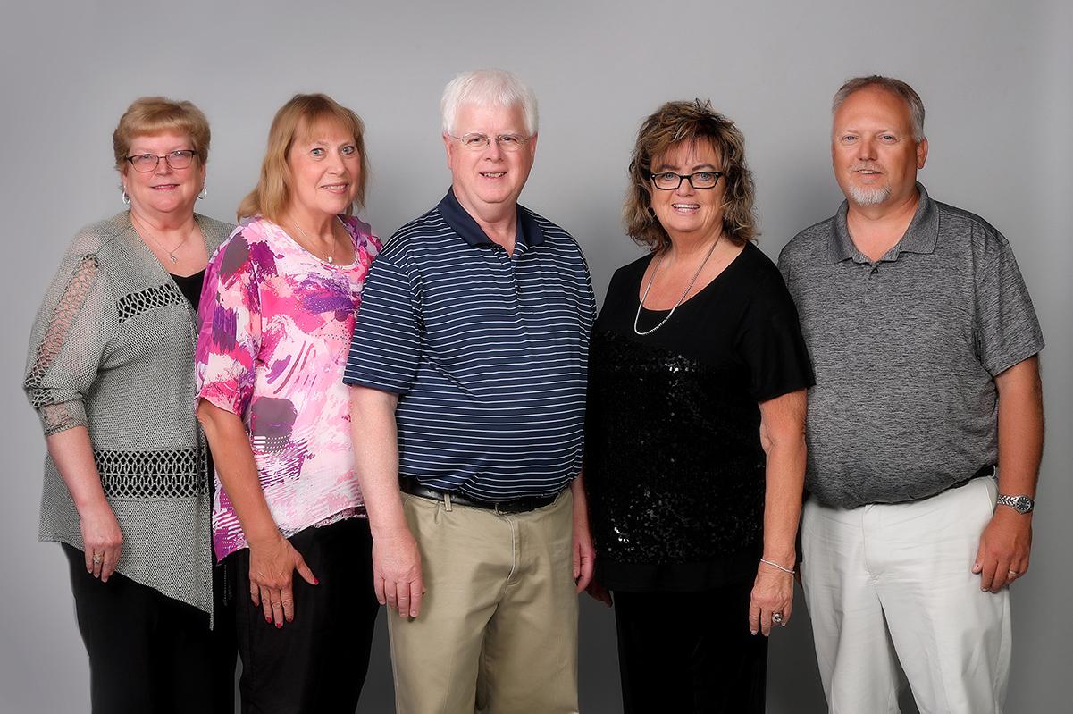 Board of Directors: Terri Lang, Joan Mattson, Jim Montgomery, Linda Nelson, Aaron Nelson